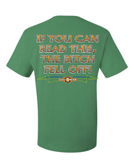 If You Can Read This, The Bitch Fell Off T-Shirt Funny Biker Tee Shirt - Tee Hunt - 8