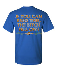 If You Can Read This, The Bitch Fell Off T-Shirt Funny Biker Tee Shirt - Tee Hunt - 7