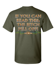 If You Can Read This, The Bitch Fell Off T-Shirt Funny Biker Tee Shirt - Tee Hunt - 13