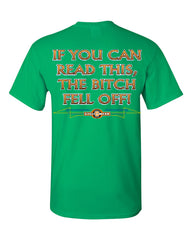 If You Can Read This, The Bitch Fell Off T-Shirt Funny Biker Tee Shirt - Tee Hunt - 12
