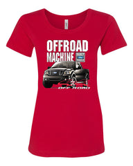 Licensed Ford F-150 T-Shirt Offroad Machine Built Ford Tough Tee Shirt - Tee Hunt - 3