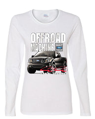 Licensed Ford F-150 Long Sleeve Tee Offroad Machine Built Ford Tough - Tee Hunt - 3