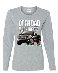 Licensed Ford F-150 Long Sleeve Tee Offroad Machine Built Ford Tough - Tee Hunt - 4