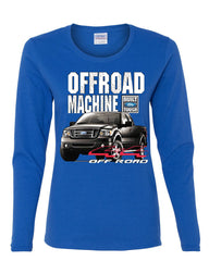 Licensed Ford F-150 Long Sleeve Tee Offroad Machine Built Ford Tough - Tee Hunt - 5