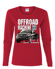 Licensed Ford F-150 Long Sleeve Tee Offroad Machine Built Ford Tough - Tee Hunt - 6