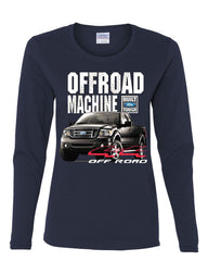 Licensed Ford F-150 Long Sleeve Tee Offroad Machine Built Ford Tough - Tee Hunt - 7