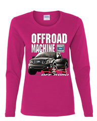 Licensed Ford F-150 Long Sleeve Tee Offroad Machine Built Ford Tough - Tee Hunt - 8