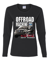 Licensed Ford F-150 Long Sleeve Tee Offroad Machine Built Ford Tough - Tee Hunt - 2