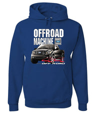 Licensed Ford F-150 Hoodie Offroad Machine Built Ford Tough Sweatshirt - Tee Hunt - 6