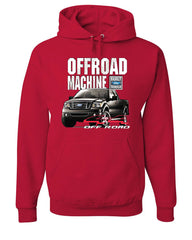 Licensed Ford F-150 Hoodie Offroad Machine Built Ford Tough Sweatshirt - Tee Hunt - 5