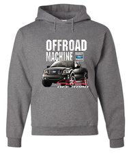 Licensed Ford F-150 Hoodie Offroad Machine Built Ford Tough Sweatshirt - Tee Hunt - 7