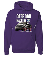 Licensed Ford F-150 Hoodie Offroad Machine Built Ford Tough Sweatshirt - Tee Hunt - 3