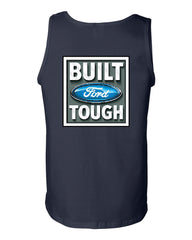Built Tough Tank Top Licensed Ford Truck 4x4 F150 Mustang - Tee Hunt - 2