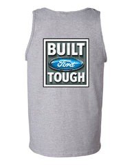 Built Tough Tank Top Licensed Ford Truck 4x4 F150 Mustang - Tee Hunt - 4