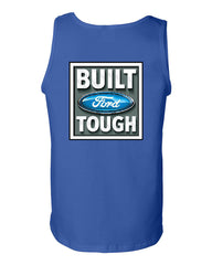 Built Tough Tank Top Licensed Ford Truck 4x4 F150 Mustang - Tee Hunt - 5