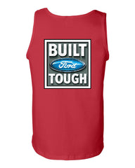 Built Tough Tank Top Licensed Ford Truck 4x4 F150 Mustang - Tee Hunt - 3