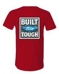 Built Tough V-Neck T-Shirt Licensed Ford Truck 4x4 F150 Mustang Tee