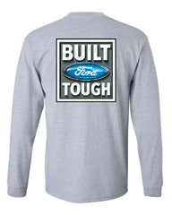 Built Tough Long Sleeve T-Shirt Licensed Ford Truck 4x4 F150 Mustang - Tee Hunt - 4