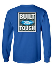 Built Tough Long Sleeve T-Shirt Licensed Ford Truck 4x4 F150 Mustang - Tee Hunt - 5