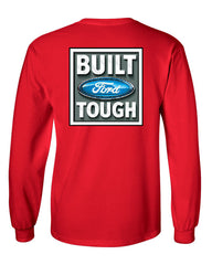 Built Tough Long Sleeve T-Shirt Licensed Ford Truck 4x4 F150 Mustang - Tee Hunt - 6