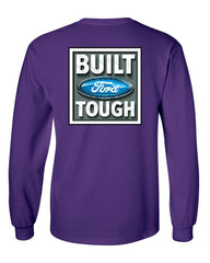 Built Tough Long Sleeve T-Shirt Licensed Ford Truck 4x4 F150 Mustang - Tee Hunt - 7