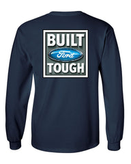 Built Tough Long Sleeve T-Shirt Licensed Ford Truck 4x4 F150 Mustang - Tee Hunt - 8