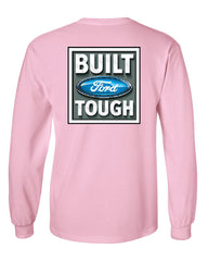 Built Tough Long Sleeve T-Shirt Licensed Ford Truck 4x4 F150 Mustang - Tee Hunt - 11