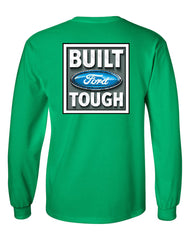 Built Tough Long Sleeve T-Shirt Licensed Ford Truck 4x4 F150 Mustang - Tee Hunt - 12