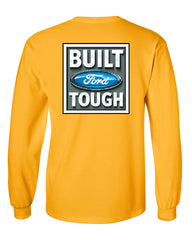 Built Tough Long Sleeve T-Shirt Licensed Ford Truck 4x4 F150 Mustang - Tee Hunt - 13
