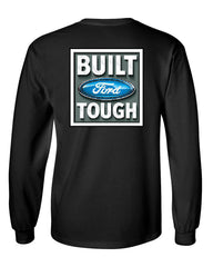 Built Tough Long Sleeve T-Shirt Licensed Ford Truck 4x4 F150 Mustang - Tee Hunt - 2