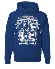American Firefighter First In Last Out Hoodie Fire Rescue Sweatshirt
