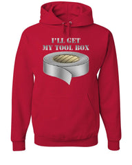 I'll Get My Tool Box Hoodie Funny Duct Tape Sweatshirt - Tee Hunt - 5