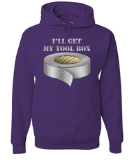 I'll Get My Tool Box Hoodie Funny Duct Tape Sweatshirt - Tee Hunt - 3
