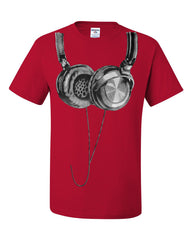 Huge Hanging Headphones T-Shirt DJ Music Tee Shirt - Tee Hunt - 5