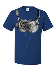 Huge Hanging Headphones T-Shirt DJ Music Tee Shirt - Tee Hunt - 6