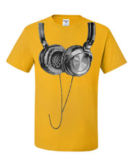 Huge Hanging Headphones T-Shirt DJ Music Tee Shirt - Tee Hunt - 4
