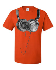 Huge Hanging Headphones T-Shirt DJ Music Tee Shirt - Tee Hunt - 3