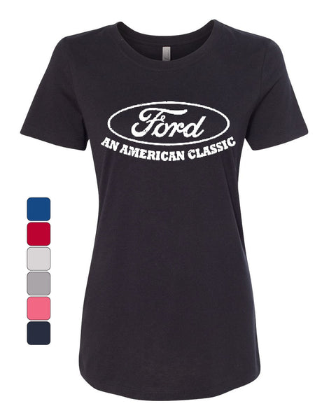 Ford An American Classic Women's T-Shirt Ford Truck Licensed Tee