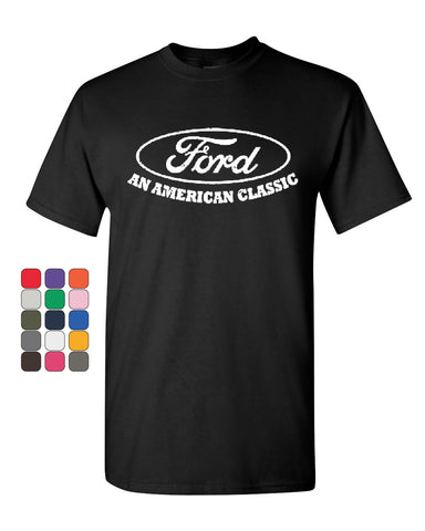 Ford An American Classic T-Shirt Ford Truck Licensed Tee Shirt - Tee Hunt - 1