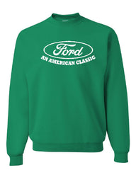 Ford An American Classic Crew Neck Sweatshirt Ford Truck Licensed