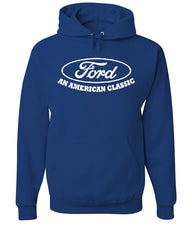Ford An American Classic Hoodie Ford Truck Licensed Sweatshirt - Tee Hunt - 6
