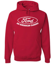 Ford An American Classic Hoodie Ford Truck Licensed Sweatshirt - Tee Hunt - 5