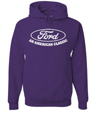 Ford An American Classic Hoodie Ford Truck Licensed Sweatshirt - Tee Hunt - 3