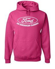 Ford An American Classic Hoodie Ford Truck Licensed Sweatshirt - Tee Hunt - 8
