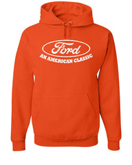 Ford An American Classic Hoodie Ford Truck Licensed Sweatshirt - Tee Hunt - 4