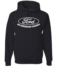 Ford An American Classic Hoodie Ford Truck Licensed Sweatshirt - Tee Hunt - 2