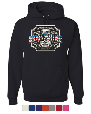 Moonshine American Original Hoodie Tennessee Whiskey Sweatshirt - Tee Hunt - 1