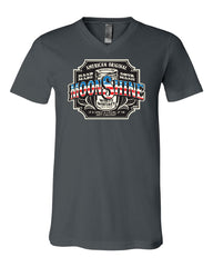 Moonshine American Original V-Neck T-Shirt Tennessee Whiskey Tee - Tee Hunt - 5