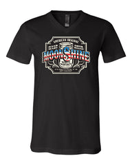 Moonshine American Original V-Neck T-Shirt Tennessee Whiskey Tee - Tee Hunt - 2