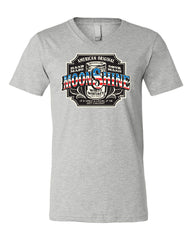 Moonshine American Original V-Neck T-Shirt Tennessee Whiskey Tee - Tee Hunt - 4